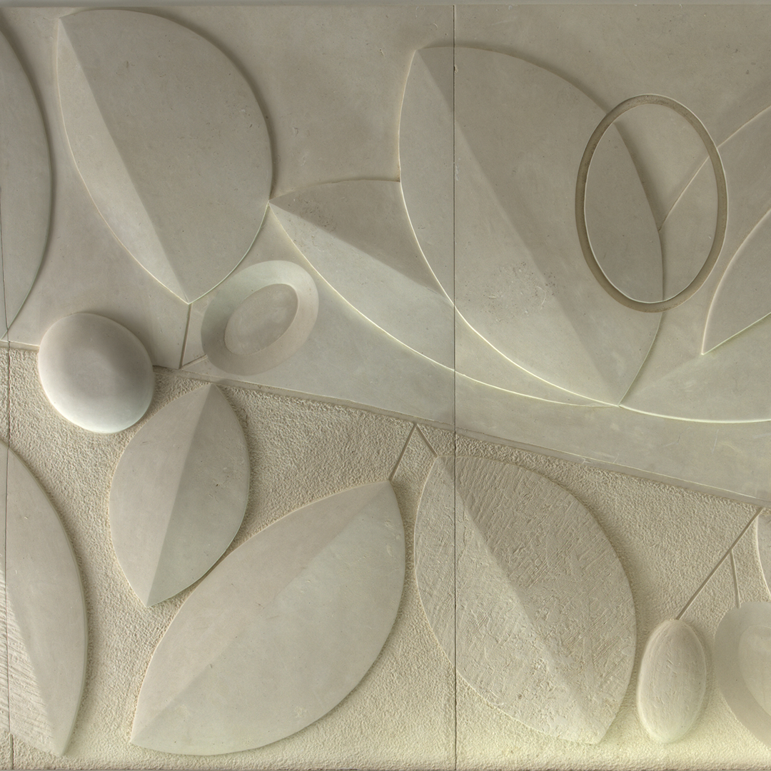 Bas relief 2 stone finish